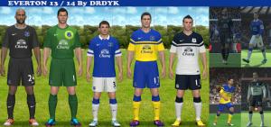 Download PES2014 Everton 13/14 by DRDYK