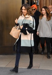 Jessica Alba - Out in NYC 3/5/14