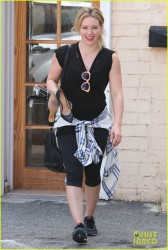 Hilary Duff - Out in Beverly Hills 3/5/14