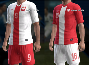 Download PES 2013 Poland 2014 Kits by AkmalRW