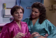 Julia Louis-Dreyfus - 1980's SNL - Cat Fight