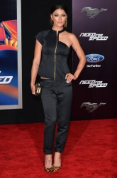 "Jessica Szohr - ""Need For Speed"" Premiere in LA 3/6/14"
