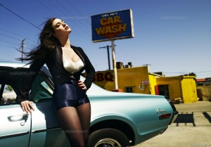 Kat Dennings - Warwick Davis Photoshoot for Flaunt Magazine (2010) Tagged