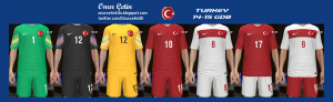 Download PES 2014 Turkey 14-15 GDB Kits by Onur Çetin
