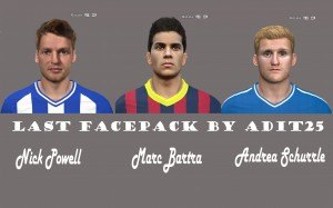 Download Last Facepack For PES 2014 By Adit25