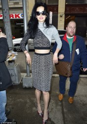 Krysten Ritter - Arriving to The Wendy Williams Show in NYC 3/10/14