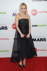 "Kristen Bell - ""Veronica Mars"" Screening in NYC 3/10/14"