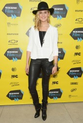 "Maggie Grace - ""We'll Never Have Paris"" Premiere at the 2014 SXSW Film Festival in Austin, Texas 3/10/14"