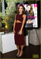 Jessica Alba - At her Nylon Magazine Cover Party in West Hollywood 3/10/14