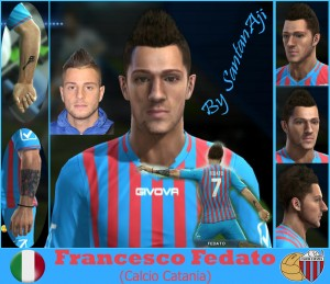 Download Francesco Fedato (Calcio Catania) by santanAji