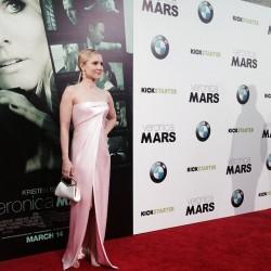 """Kristen Bell - """"Veronica Mars"""" premiere in LA 3/12/14"""