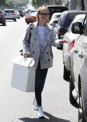 Emma Roberts - Shopping in Beverly Hills 3/13/14