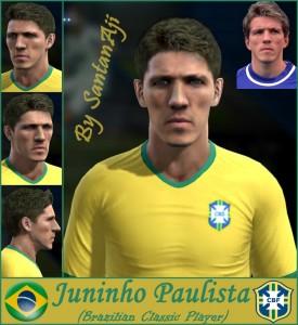Download PES 2013 Juninho Paulista Face By santanAji