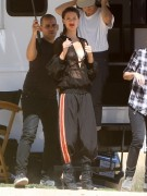 Alessandra Ambrosio - On the set of a photoshoot in Lancaster, California 3/14/14