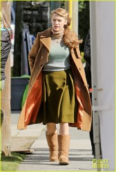 "Blake Lively - On the set of ""The Age of Adaline"" in Vancouver 3/17/14"