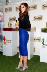 Maria Menounos at a Suave Launch in New York City on March 18, 2014