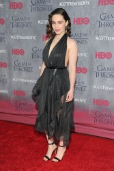 Emilia Clarke - 'Game of Thrones' Season 4 Premiere in NYC 3/18/14
