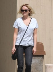 Malin Akerman - Out in Woodland Hills 3/20/14