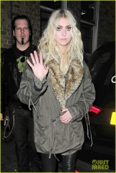 Taylor Momsen - Out in London 3/19/14