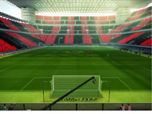 Download PES 2013 San Siro Stadium Coreografi & Turf by kurniawan