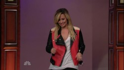 Demi Lovato - Jay Leno 17th September 2013 1080i