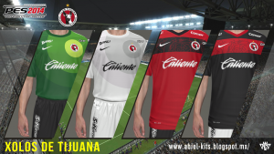 Download Xolos de Tijuana GDB Kits by ABIEL