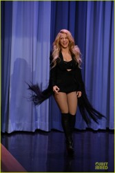 Shakira - On the 'Tonight Show starring Jimmy Fallon' in NYC 3/25/14
