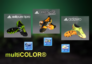 Download 3 Boots for new pack Adidas The Earth by multiCOLOR