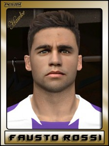 Download PES 2014 Fausto Rossi Face by Hawke