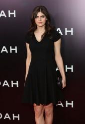 Alexandra Daddario - 'Noah' Premiere in NY 3/26/14