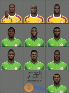 Download PES 2014 Nigeria Facepack by elmodamer