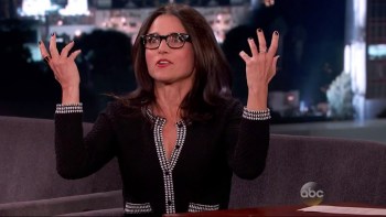 Julia Louis-Dreyfus - Jimmy Kimmel Live caps