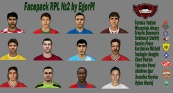 FIFA 14 Facepack RPL №2 by EgorPl