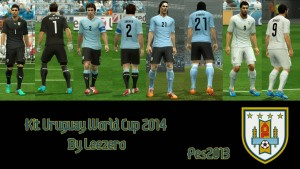 Download PES 2013 Uruguay WC2014 Kits by Leezero