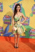 Victoria Justice  - Nickelodeon Kids' Choice Awards 2014 in LA - 03/29/14 **VID Added**