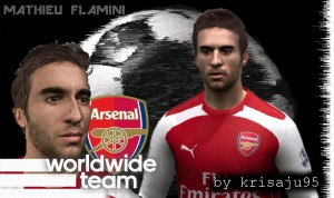 FIFA 14 Mathieu Flamini - by krisaju95 (v2)