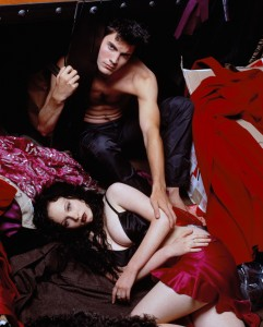 Thora Birch and Wes Bentley - American Beauty Photoshoot