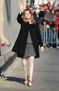 Emma Stone - Arriving to Jimmy Kimmel Live! in Hollywood 4/3/14