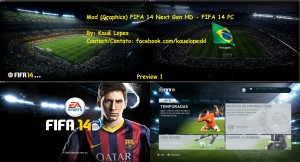 Mod (Graphics) FIFA 14 Next Gen HD - FIFA 14 PC