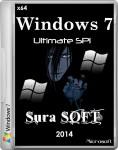 Windows 7 SP1 Ultimate Sura SOFT (x64/RUS/2014)