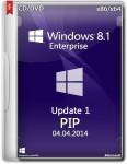 Windows 8.1 Enterprise Update1 �86/x64 PIP CD/DVD (RUS/ENG/2014)