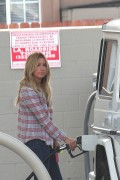 Ashley Tisdale - at a gas station in Los Angeles - 04/04/14