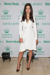 Jessica Gomes - David Jones and Crown Autumn Racing Ladies Lunch in Sydney 4/4/14