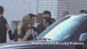 Nina & Ian Arrive to Elton Johns Oscar Viewing Party (February 24) 9a87b2319330664