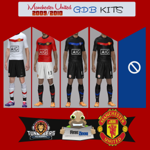 Download Manchester United 2009 Retro Kits by Firas Zinou