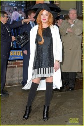 Lindsay Lohan - Arriving to the 'Late Show with David Letterman' in NYC 4/7/14