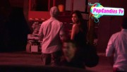 Nina & Derek Hough Holding hands while hiding from Paparazzi at The Roosevelt LA (October 5) 601ddf319507985
