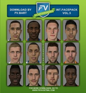 FIFA 14 International Facepack vol.5 by FV.Bart