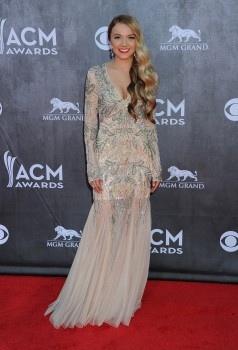 Danielle Bradbery - 49th Annual Academy Of Country Music Awards in Las Vegas 04/06/2014