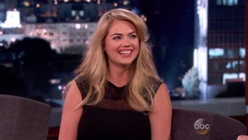 KATE UPTON - Jimmy Kimmel Live 04.09.14